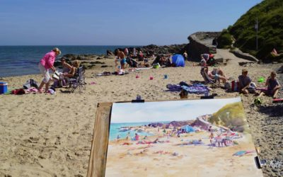 Thinking of trying plein-air painting? Few tips and material list