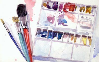 Watercolour painting – what do you need to start?
