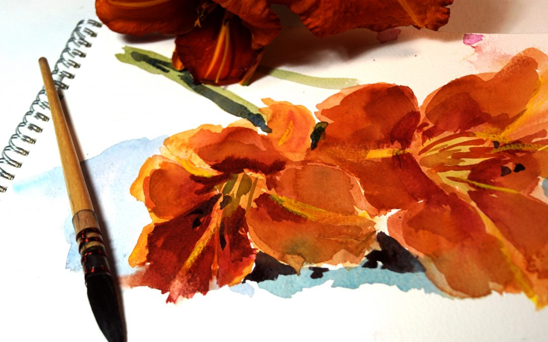 Free Watercolour Classes