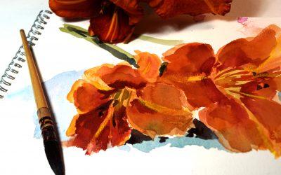 Free Watercolour Classes