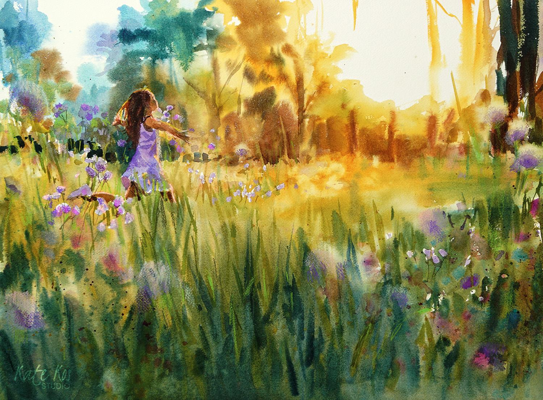 Lost in Lilac