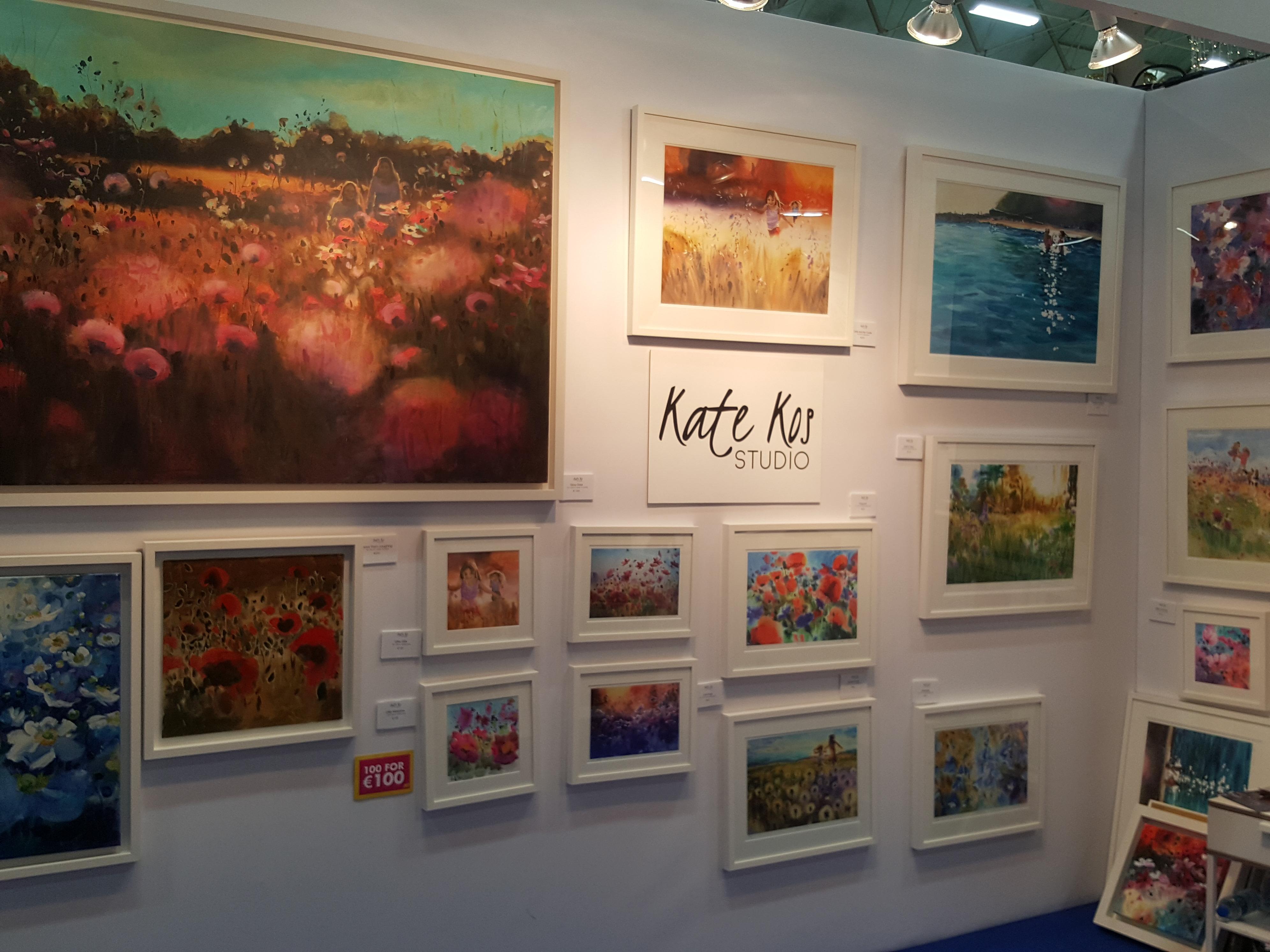 Kate Kos Studio - ArtSource stand
