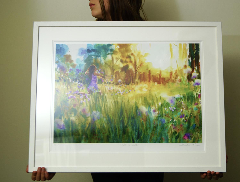 Lost In Lilac Print Kate Kos Studio