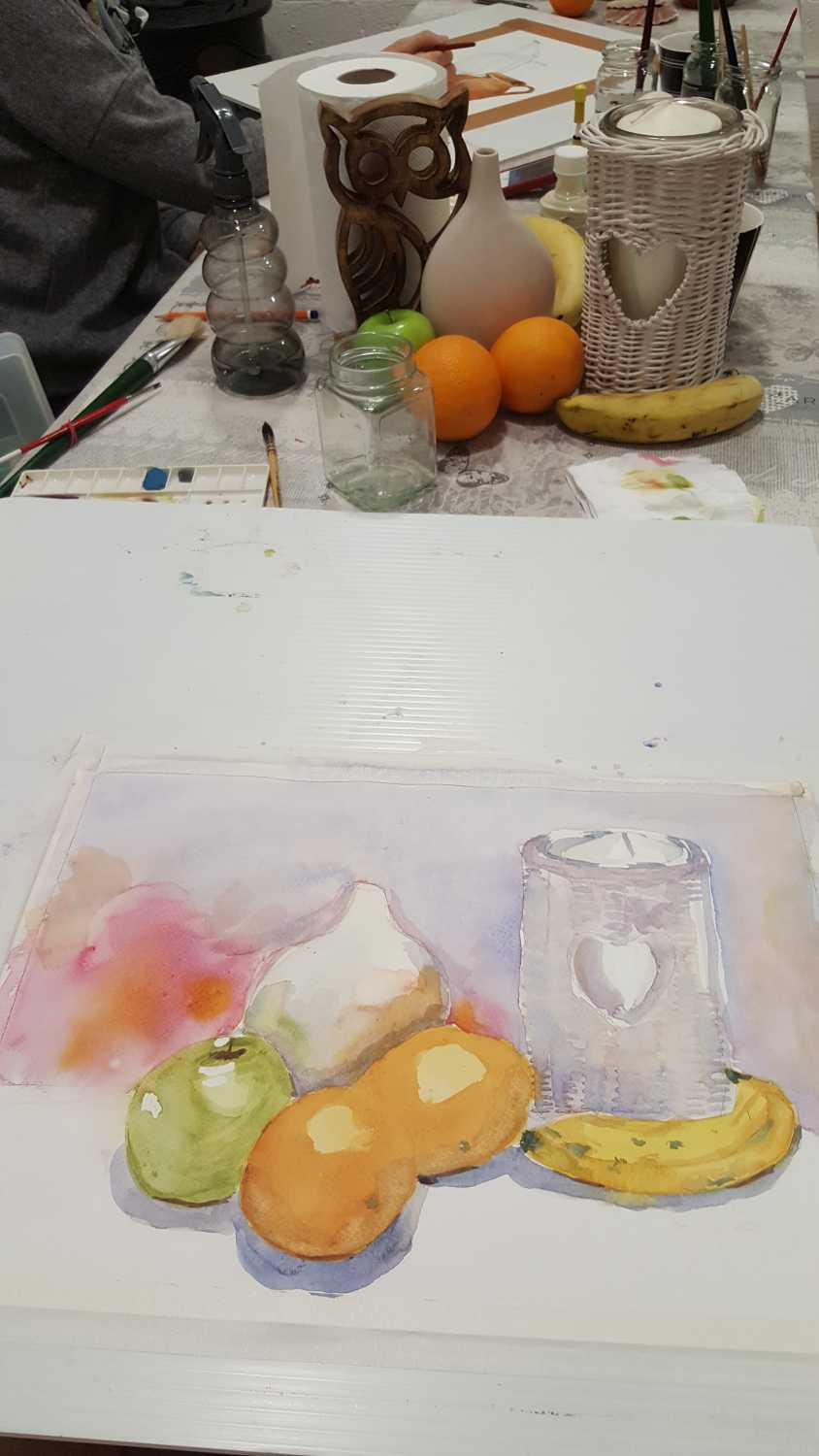 Waterccolour course with Kate 3