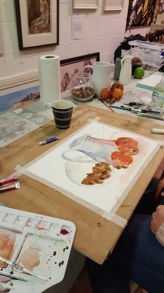 Waterccolour course with Kate