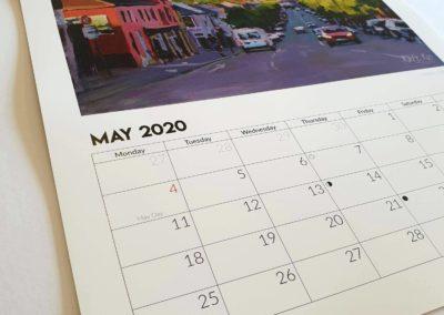 Kate Kos calendar 2020 11