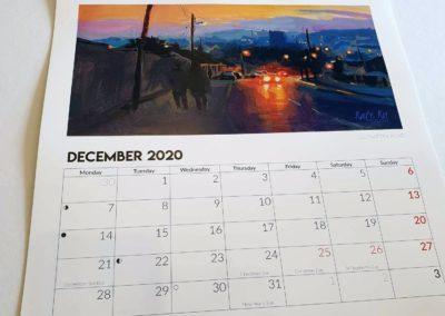 Kate Kos calendar 2020 18
