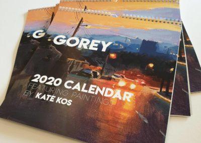 Kate Kos calendar 2020 2