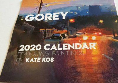 Kate Kos calendar 2020 22
