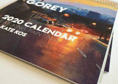 Kate Kos calendar 2020 4