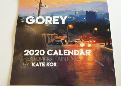 Kate Kos calendar 2020 7