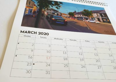 Kate Kos calendar 2020 9