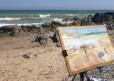 Ballymoney Rocks! plein air