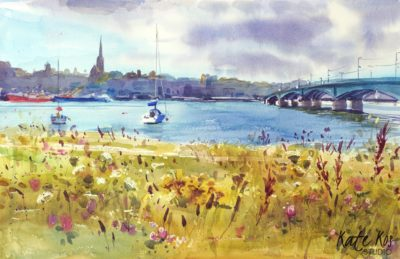 2020 art painting landscape plein air by Kate Kos - Wexford