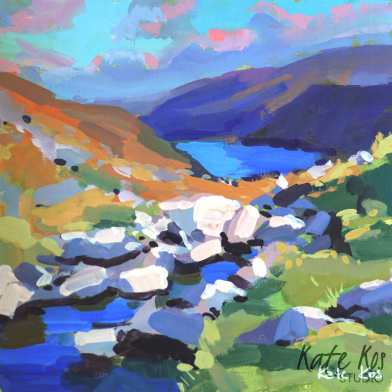2021 art painting gouache seascape Glendalough by Kate Kos - Square Away 8 .jpg
