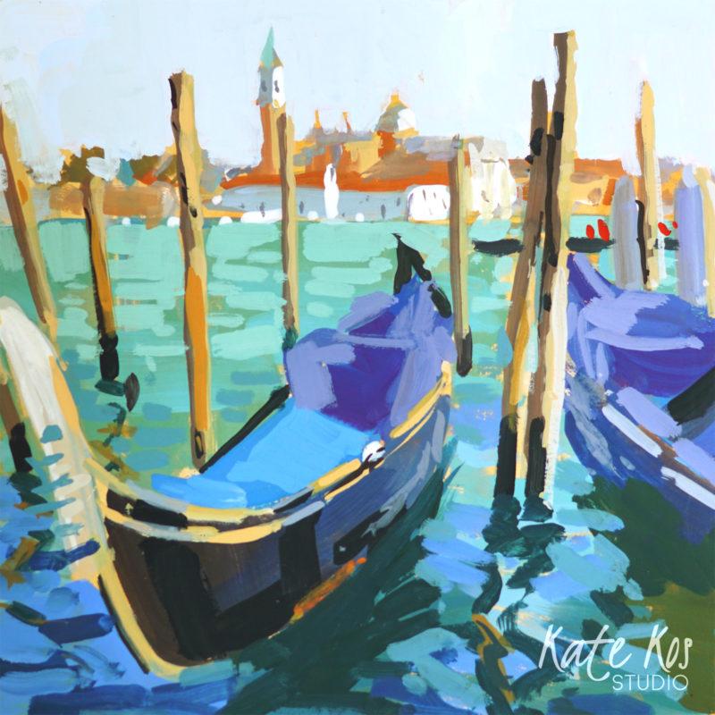 2021 art painting gouache seascape Venice by Kate Kos - Square Away 1 .jpg